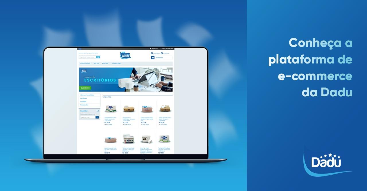 Conheça a plataforma de e-commerce da Dadu