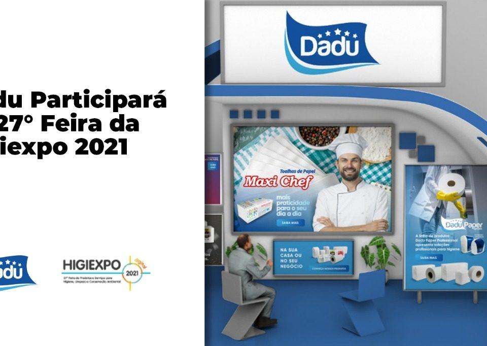 Dadu Participará da 27 feira higiexpo 2021